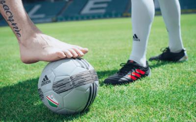 Leczenie dolegliwości stóp piłkarza w gabinecie podologicznym Satin