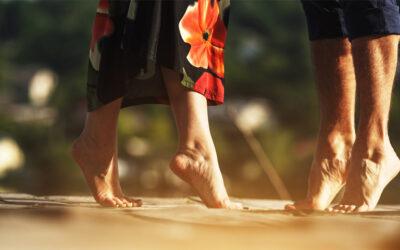 Zdejmij buty, rekonstrukcja paznokci u stóp przywróci im estetyczny wygląd!