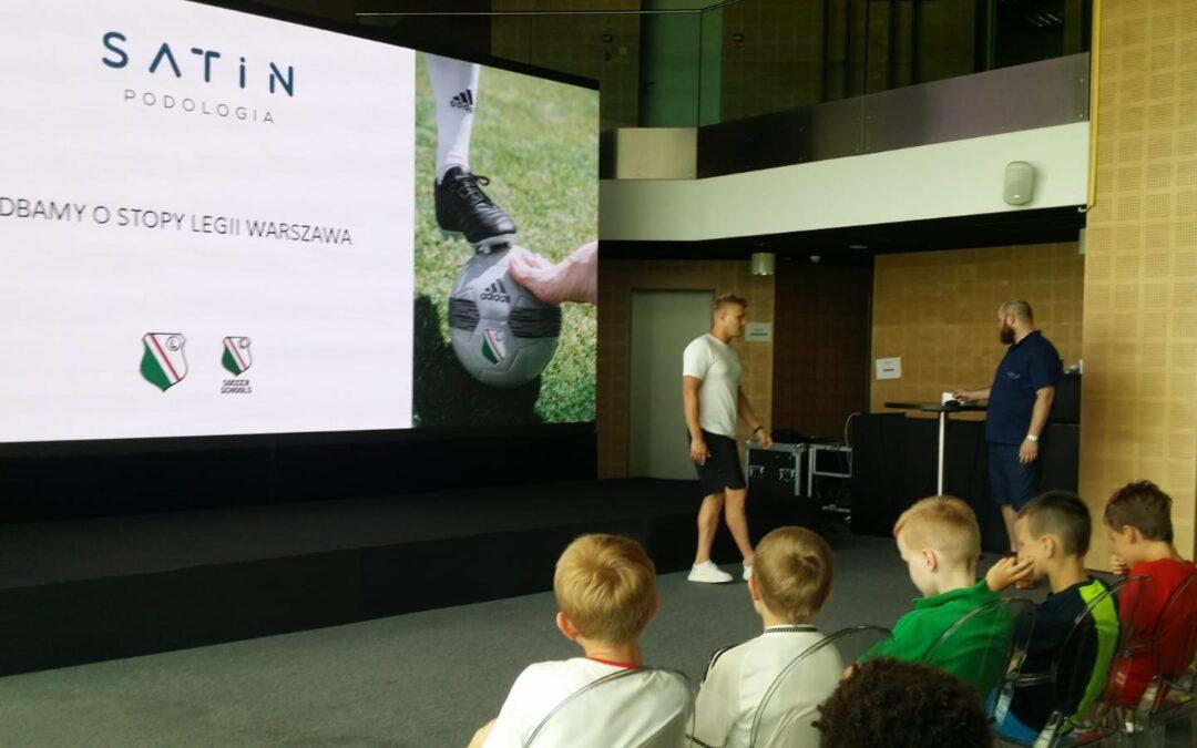 Warsztatay dla młodych adeptów Legia Soccer Schools